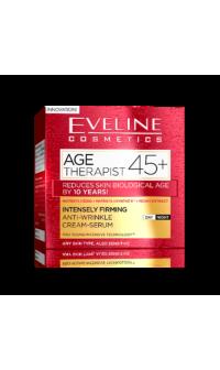 AGE THERAPIST 45+ Ránctalanító Nappali és Éjszakai krém-szérum 50ml