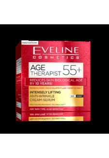 AGE THERAPIST 55+ Ránctalanító Nappali és Éjszakai krém-szérum 50ml