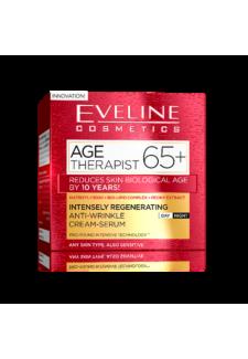 AGE THERAPIST 65+ Ránctalanító Nappali és Éjszakai krém-szérum 50ml