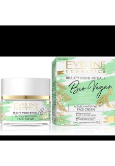 Bio Vegan Aktívan Mattító arckrém 50ml