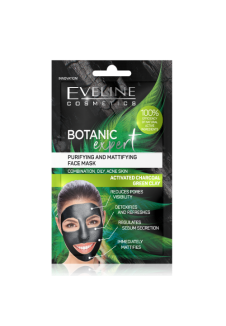 Botanic expert Tisztító és mattító arcmaszk 2x5ml