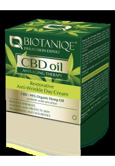 Biotaniqe CBD Oil Ránctalanító Erősítő Nappali Krém 50ml