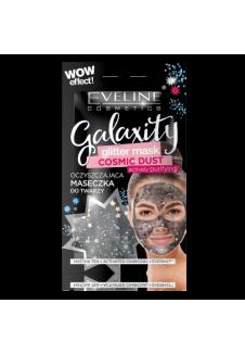 Glitter Black Tisztító gél arcmaszk csillogó szemcsékkel 10ml