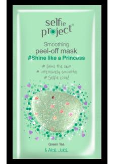 Selfie Project Shine like a Princess Kisimító peel-off maszk 12ml