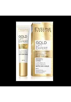 Gold Lift Expert Luxus Szemkörnyékápoló krém 24k arannyal SPF8 15ml