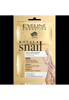 Royal Snail Kézradír+ maszk 2x6ml