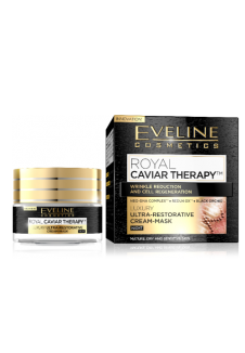 Royal Caviar Therapy Ultra-erősítő Éjszakai krém-maszk 50ml