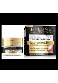 Royal Caviar Therapy 50+ Aktív Fiatalító Nappali krém-koncentrátum 50ml