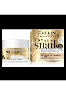 Royal Snail 30+ Aktív Kisimító Nappali és Éjszakai krém 50ml