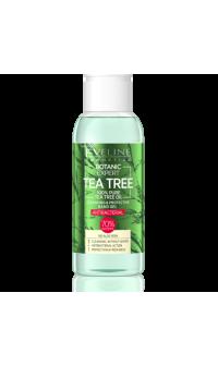 BOTANIC EXPERT Teafaolaj Tisztító és Védő Antibakteriális kézgél 3az1–ben 100ml