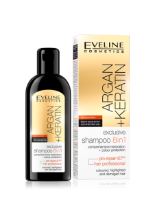 Argán+Keratin exkluzív sampon 8in1 150ml
