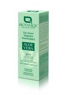 Biotaniqe  Aloe Vera  Mélyen hidratáló gélkrém 50ml