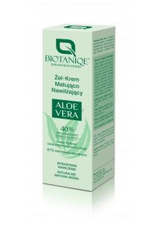 Biotaniqe Aloe Vera  Hidratáló mattító gélkrém 50ml