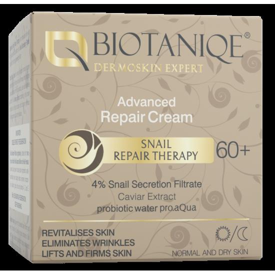 BIOTANIQE Koncentrált Javító krém 60+  4% Csigaváladék szűrlet 50ml