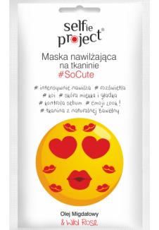 Selfie Project #SoCute hidratáló szövetmaszk 1db/15ml