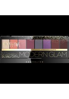 Szemhéjfesték 8 szinű Modern Glam 03 9,6gr