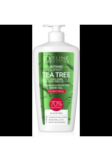 BOTANIC EXPERT Teafaolaj Tisztító és Védő Antibakteriális kézgél 3az1–ben 350ml