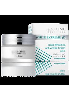 WHITE EXTREME 3D éjszakai krém 50ml